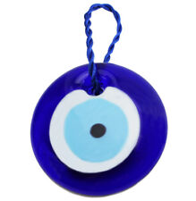 "3"" Large Turkish Blue Evil Eye Amulet Wall Hanging Decor Protection US Seller"