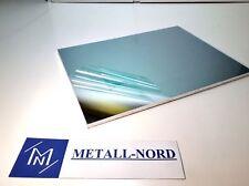 Aluminium Platte 286x132x6 [mm] AlMg4,5Mn Alu Alublech Aluplatte feingefräst