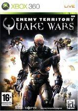 QUAKE WARS    ENEMY TERRITORY         -----   pour X-BOX 360  -----