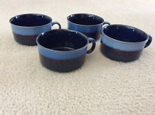 New listing Plates and Beyond - Set of (4) - 20oz Soup Cups - Blue - New with Tags