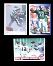 1991 Score RANDALL CUNNINGHAM Philadelphia Eagles Card + Team MVP 90+ Club Cards