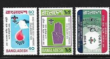 BANGLADESH Sc 136-8 NH ISSUE OF 1978 - SCOUTS