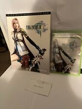 Final Fantasy XIII 13 Xbox 360 and Strategy Guide Game Tested