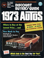 1973 Autos Discount Buyer's Guide How Much To Pay VGEX 122815jhe2