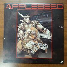 Masamun Shirow APPLESEED  - Japan ANIME Laserdisc + insert