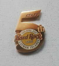 Hard Rock Cafe Cayman Islands – 2005 ❋ 5th Anniversary ❋ Staff ❋ (#31065) ❋🎼❋