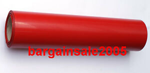 1 Red Roll PU T-SHIRT HEAT VINYL TRANSFER FILM ROLL HEAT PRESS  Plotter Cutter