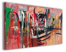 Quadro moderno Jean Michel Basquiat vol III stampa su tela canvas arredo poster