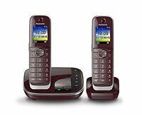Panasonic KX-TGJ322 Teléfono DECT,Servicios de Mensajes Cortos SMS.Identificador