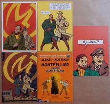 Lot Cartes Postales JACOBS BLAKE et MORTIMER (104)