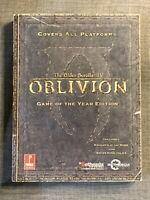 Elder Scrolls IV: Oblivion Game of the Year: Prima Official Game Guide Prima