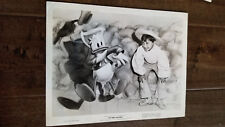 1944 DISNEY  ORIGINAL PUBLICITY STILL PHOTO THE THREE CABALLEROS DONALD DUCK