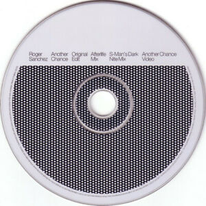 Roger Sanchez – Another Chance 3-Track CD Single HOUSE CLASSIC 2001