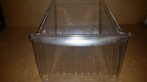 Frigidaire Kenmore Refrigerator Crisper Pan Drawer 240343803 Clear