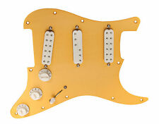 Fender Stratocaster Strat Loaded Pickguard Duncan Everything Axe Pickups GA/WH
