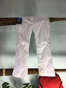 Salomon Insulated Shell Pant - Size S - White - New - I001