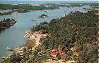 Postcard Bayfield Lodge Georgian Bay Ontario Canada