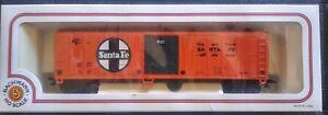 BACHMANN 76036 ~51' STEEL REEFER ~ SANTA FE 55360 ~ IN BOX