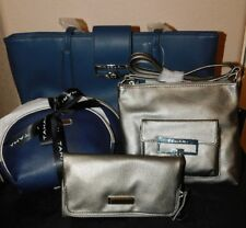 Lot 5 New Tahari Tote, Clutch, Crossbody & 2 Dome Make Up Bags