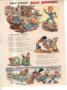 1935 Disney - Silly Symphony Broken Toys from Good Housekeeping
