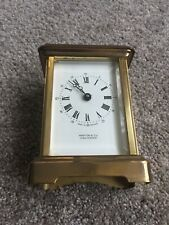 brass antique Martin &Co carriage Clock