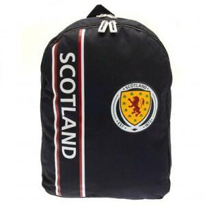 Scotland FA Official Nylon Backpack School Bag Rucksack Scottish Present Gift