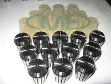 """ER32 COLLET SET--1/16"""" up to 3/4"""" by 1/16th 12 COMMON SIZES #ER32-SET12--NEW"""