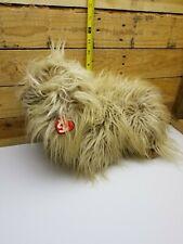 Ty Classic Duster Lhasa Apso Puppy Dog Shih Tzu Plush Toy Stuffed Animal 1999