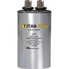 Titan TOCF35 35 MFD 440/370V Oval Run Capacitor - New