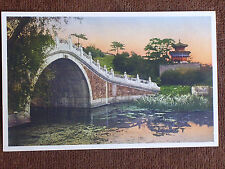 Peking/Summer Palace Camel Back Bridge/Librairie Francaise Printed Color Photo