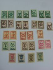 China Taiwan Early Stamps Lot of Postage Due, Revenue Stamps