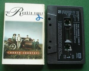 The Rankin Family North Country / Orangedale Whistle Cassette Tape Single TESTED