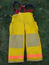 ChiefTain Firefighters Pants Turnout Gear Fireman Sz M Inseam 29 w/ Suspenders