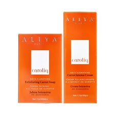 Aliya Paris Carotiq Carrot Intense Cream + Soap - Official UK Distributor