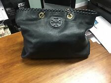 Tony Burch Black Handbag Used in Excellent Condition with Original Canvas Bag