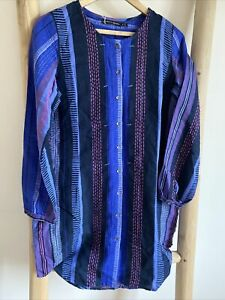 Gudrun Sjoden Cotton  /Linen Tunic S (10)