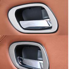 Stainless Steel Inner Door Handle Cover Trim For Honda Vezel HR-V HRV 2014-2016