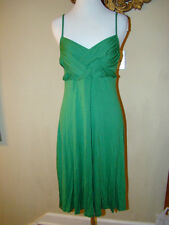 dELiA*s KELLY GREEN GRECIAN STYLE THIN DRESS WOMENS SIZE LARGE