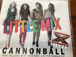 Little Mix Cannonball Cd Single With Live Tracks