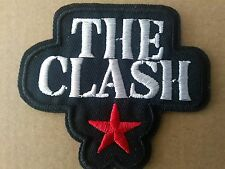 THE CLASH PUNK ROCK SEW OR IRON ON  PATCH