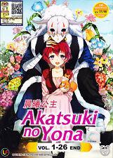 Akatsuki no Yona / Yona of the Dawn DVD (Eps : 1 to 26 end) English Subtitle