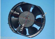 VENTOLA ASSIALE 35W 220-240V 172x150x5,1 ALLUMINIO
