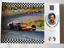 OLD CARD GRAND PRIX FORMULA 1 GP : BRUCE McLAREN  / McLAREN - FORD F1