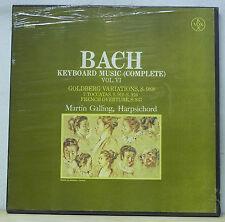 Martin Galling BACH Goldberg Variations, 7 Toccatas - Vox Box SVBX 5439 SEALED