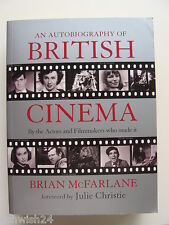 AUTOBIOGRAPHY OF BRITISH CINEMA *SIGNED* by Brian McFarlane, 1st ed, 650+ pages!