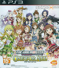 The Idolm@ster One for All Asia Japanese Version PS3 NEW