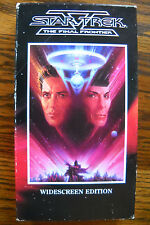 Star Trek V: The Final Frontier (1989, VHS) William Shatner and Leonard Nimoy