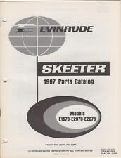 1967 Evinrude Skeeter Snowmobile Parts Manual