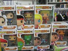 STREET FIGHTER Series 1 -  FUNKO POP! - FULL SET - 7 FIGURES !!!! NEW !!!!
