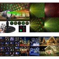 Solaire LED Laser Paysage Projecteur Lumière Star Laser Sky Shower Motion Lampe